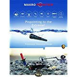 Makro Pointer Waterproof Metal Detector with Led Light and Extras
