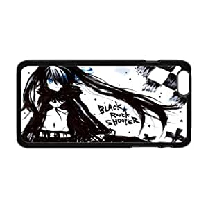 Creative Design Life Anime series 4 Black Rock Shooter Fashion Cover Hard Plastic Case For iPhone 6 4.7""