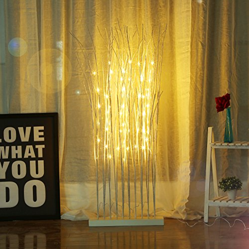 Halloween Wedding Entrance (Bolylight LED Tree 4ft 60L LED Home Christmas Decorations Lighted Tree Entrance Decor for Bedroom/Party/Wedding/Office/Home Outdoor and Indoor Use Warm)