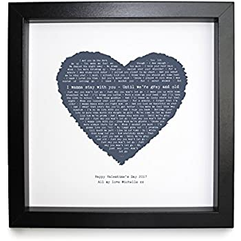 Amazon.com: James Arthur, Say You Wont Let Go, Personalised Print ...