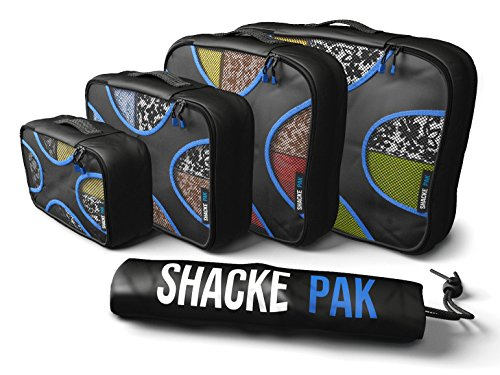 Shacke Pak 4 Set Packing Cubes