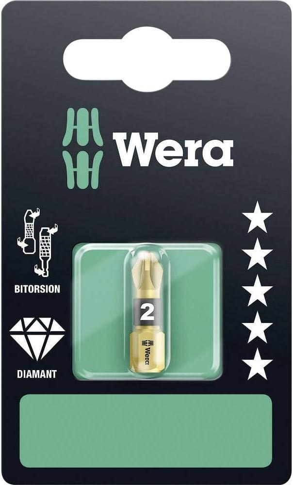 Wera WER073337 - Accesorio para destornilladores (tamaño: 25mm, pack de 1): Amazon.es: Bricolaje y herramientas