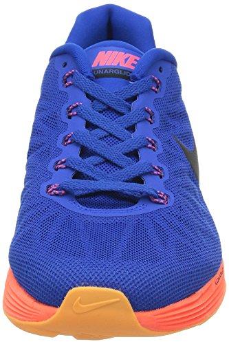 Nike Lunarglide 6 Heren Hardloopschoen Hypr Cblt / Blk-hypr Pnch-brght