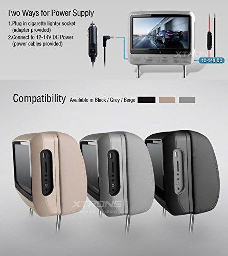 hummer h3 headrest monitor - 1
