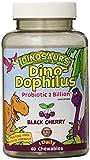 KAL Dino-Dophilus Probiotic 2 Billion Chewables, Black Cherry, 60 Count