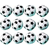 """Soccer Goal Birthday Party Soft Ball Favour, Plastic, 2"""", Pack of 12"""