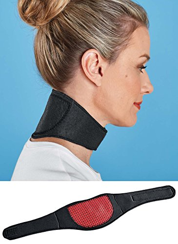 Neck Support - Dual Magnetic and Tourmaline Technology - Adjustable ()