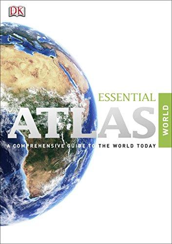 DK Essential World Atlas.