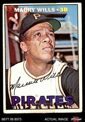 Amazoncom 1967 Topps 570 Maury Wills Pittsburgh Pirates