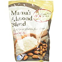 Gluten Free Mama, Mama's All Purpose Almond Blend Flour 2lbs (2 Pack)- Cup to Cup Replacement Gluten Free Flour for Gluten Free Recipes