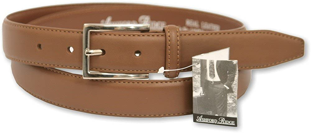 Mens Leather Belt by Ashford Ridge. 5401