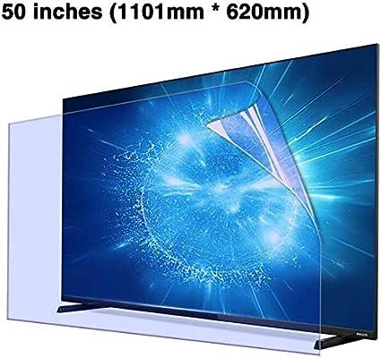 DPPAN 50 Pulgadas TV Protección de Pantalla para Televisor Anti Luz Azul, Ultra Claro LED Display Película Protectora, Antirreflejos Anti Arañazos LCD Protección Ojos Screen Protector,B: Amazon.es: Electrónica