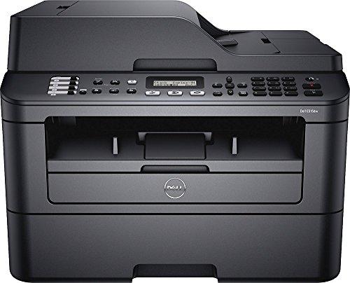 Dell - E515dw Wireless Black-and-White All-In-One Laser Printer - Black