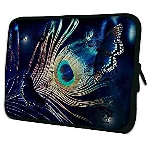 "Butterfly Pattern 7""/10""/13"" Laptop Sleeve Case for MacBook Air Pro/Ipad Mini/Galaxy Tab2/Sony/Google Nexus 62521 - SIZE#13"""