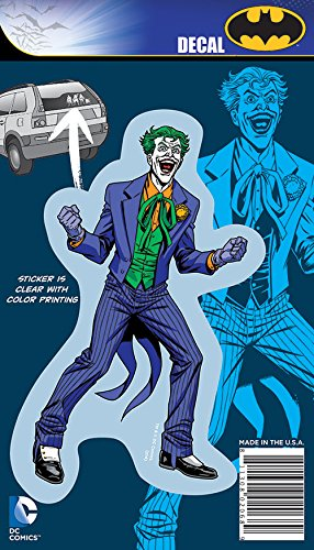 Joker Decals (DC Comics ST DCFC OR001_4b8 Car Window Decal (DC Full Color Originals Singles DC Originals 4