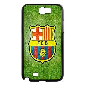 Custom Case Football FCB Barcelona For Samsung Galaxy Note 2 N7100 Q3V072414