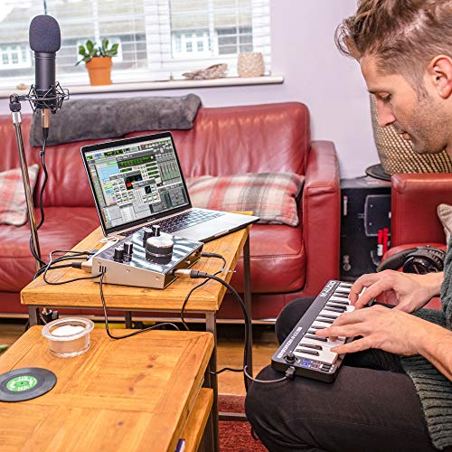 M-Audio Keystation Mini 32 MK3 | Ultra-Portable Mini USB MIDI Keyboard  Controller With ProTools First | M-Audio Edition and Xpand!2 by AIR Music  Tech