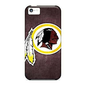 Hot Design Premium CfF10049GYMj Cases Covers Iphone 5c Protection Cases(washington Redskins 6)