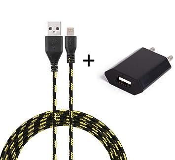 Shot Case Pack Cargador para iPhone Lightning Cable Trenza ...
