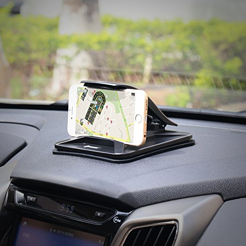 cd8e9e6240ce1c IPOW Cell Phone Holder for Car, Dashboard Car Mounts for iPhone X 8 Plus 7  Plus ...