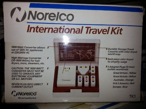 The 3 best norelco international travel kit 2019