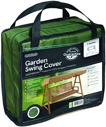 Gardman 34350 Telo di Copertura per Dondolo da Giardino Verde 2 Posti