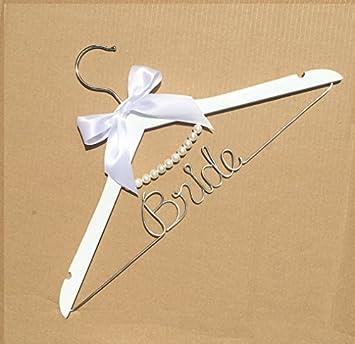 Bienternary Vintage Hochzeit Hangers Custom Personalisierbar Bridal