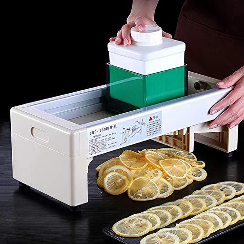 SECDIN Manual lemon slicer, Tomato Cutter Tool Shreadders,Grapefruit tea slicer Milk tea shop fruit slices, Kitchen Accessories by SECDIN