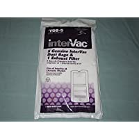Intervac 5-pack Dust Bags and Exhaust Filter Y08-5