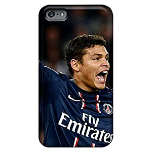 iphone 5c Protector phone cover skin Back Covers Snap On Cases For Iphone Impact the football player of psg thiago silva