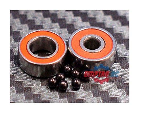 ABEC-7 [2 PCS] S689-2RS (9x17x5 mm) Stainless Steel CERAMIC Hybrid Ball Bearing