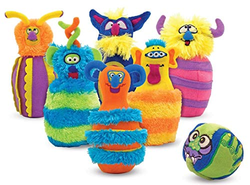 Melissa & Doug Monster Bowling Toy ()