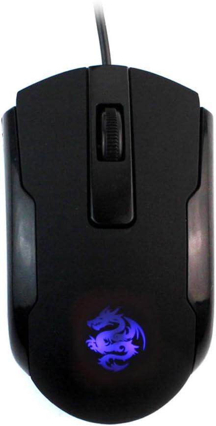 WishLotus Left Handed Mouse Logo Laser Engraving and Matte Process