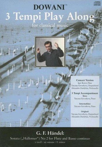 Sonata (Hallenser) No. 2 for Flute and Basso Continuo in E minor (3 Tempi Play Along) pdf