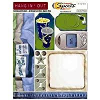 Scrappin' Sports & More Cardstock Stickers-Hangin Out