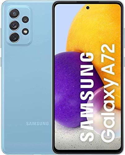 Read more about the article Samsung Galaxy A72 Smartphone ohne Vertrag 6,7 Zoll Infinity-O FHD+ Display, 128 GB Speicher, 5,000 mAh Akku und Super-Schnellladefunktion, blau, 30 Monate Herstellergarantie [Exklusiv bei Amazon]
