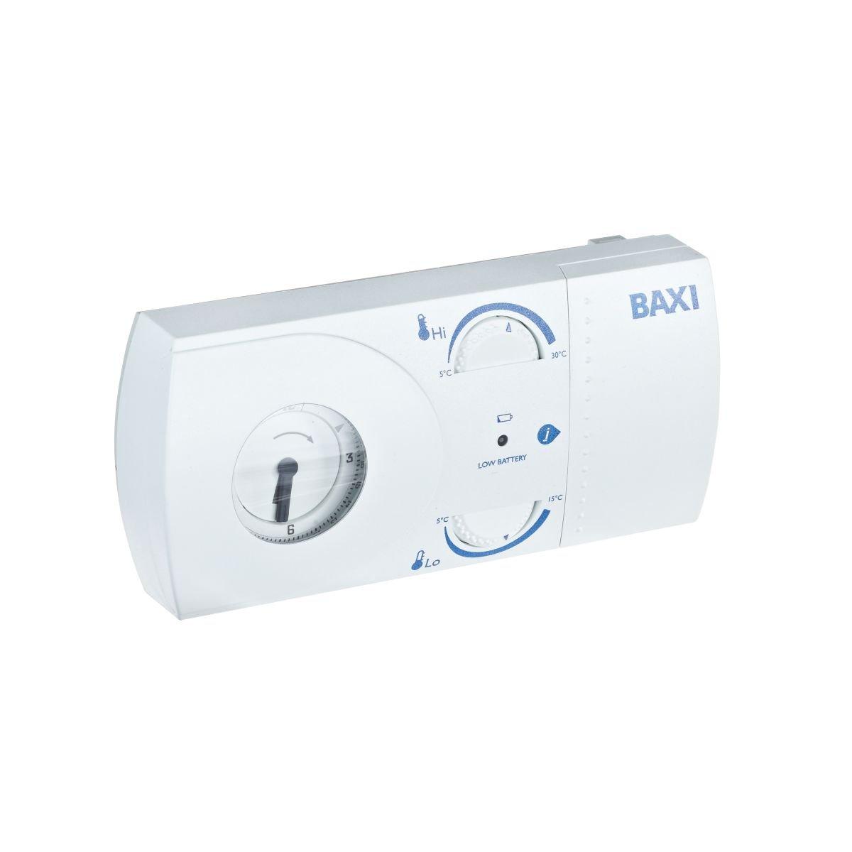 Baxi multiajuste incluida 24hr termostato programable inalámbrico ...