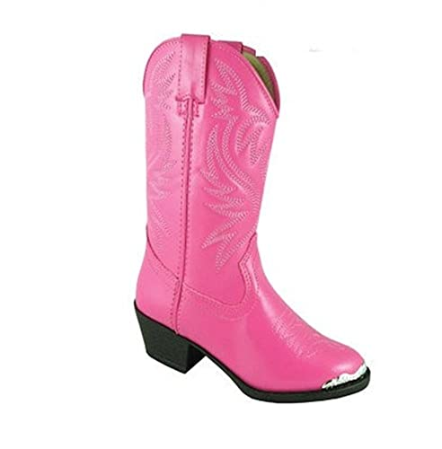 574c6797b0b Smoky Mountain Western Boots Girls Mesquite 6.5 Infant Hot Pink 1040