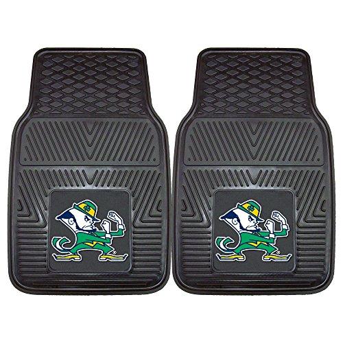 - University of Notre Dame Fighting Irish Heavy Duty Vinyl Car Floor Mats (Set of 2)