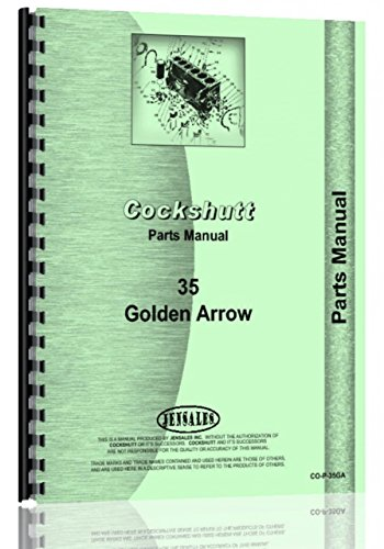 Cockshutt GOLDEN ARROW Tractor Parts Manual