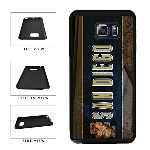 - BleuReign(TM) Hashtag San Diego #SanDiego Baseball Team TPU RUBBER SILICONE Phone Case Back Cover For Samsung Galaxy S8 Plus