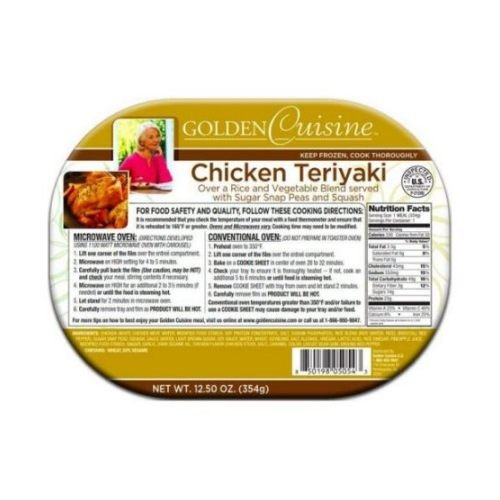 Conagra Entree Golden Cuisine Teriyaki Chicken, 13.4 Ounce -- 20 per case. by Golden Gourmet