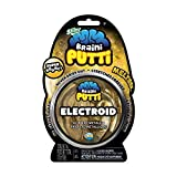OrbSlimy Braini Putti Electroid Gold Shimmer Toy | Kids Bouncy Safe Silly Putty for Play | 90g
