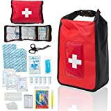 Delta Provision Waterproof First Aid Kit - Boating & Marine - Fully Stocked in a Heavy Duty Watertight Bag - Perfect for…