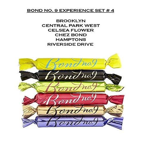 Bond No. 9 Experience Set #4 - Bon Bon Travel Sprays – Brooklyn, Central Park West, Celsea Flower, Chez Bond, Hamptons, Riverside - Riverside Drive
