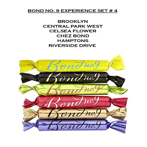Bond No. 9 Experience Set #4 - Bon Bon Travel Sprays – Brooklyn, Central Park West, Celsea Flower, Chez Bond, Hamptons, Riverside Drive