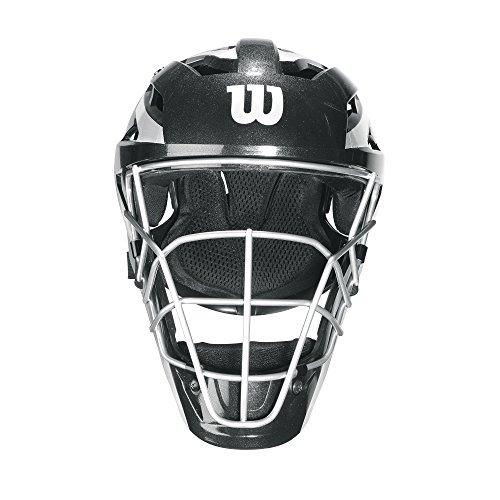 Wilson Pro Stock Catcher's Mask, Black, - Mask Wilson