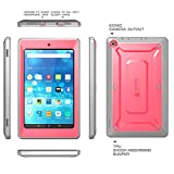SUPCASE Fire HD 8 Case, [Heavy Duty] Case for 2015 Release Amazon Fire HD 8 Tablet 5th Generation [Unicorn Beetle PRO Series] Rugged Hybrid Protective Cover w Builtin Screen Protector (Pink/Gray)