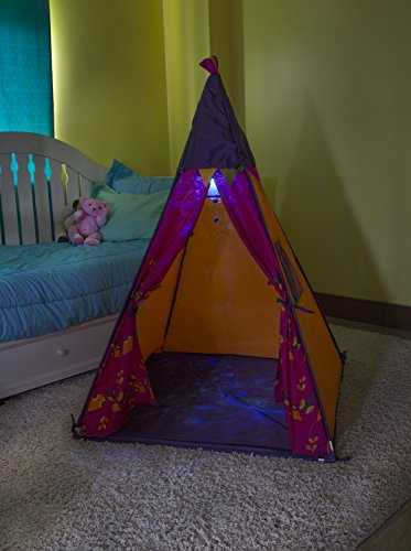 Amazon.com B. Teepee Tent Raspberry Detachable Night-light Roomy Enough For Friends 55 Inches x 39.5 Inches x 39.5 Inches Batteries Included A Portion of ... & Amazon.com: B. Teepee Tent Raspberry Detachable Night-light Roomy ...