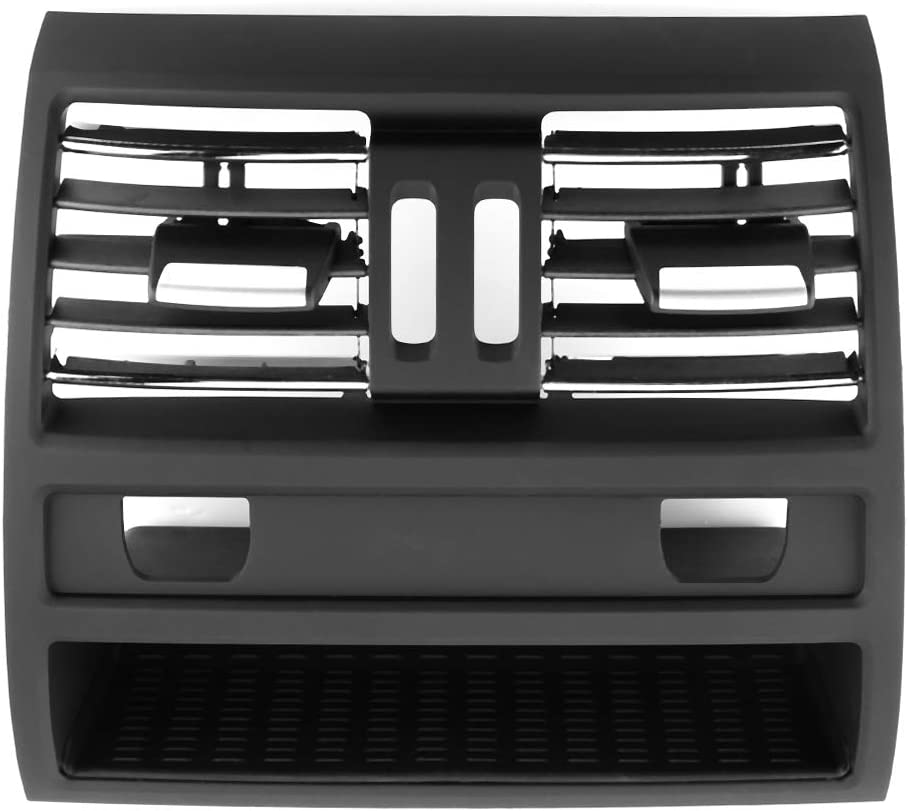 64229158312 For BMW 5 Series  Rear AC Air Vent Outlet Center Console Grill